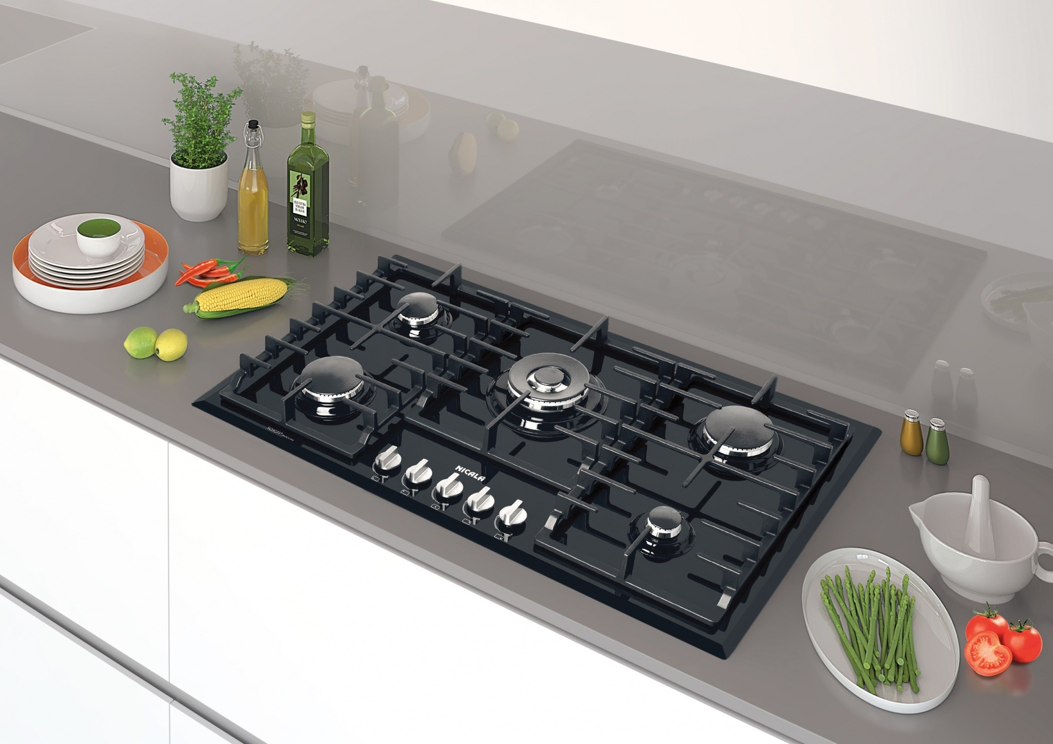 Nicala-Glass Cooktop model 2