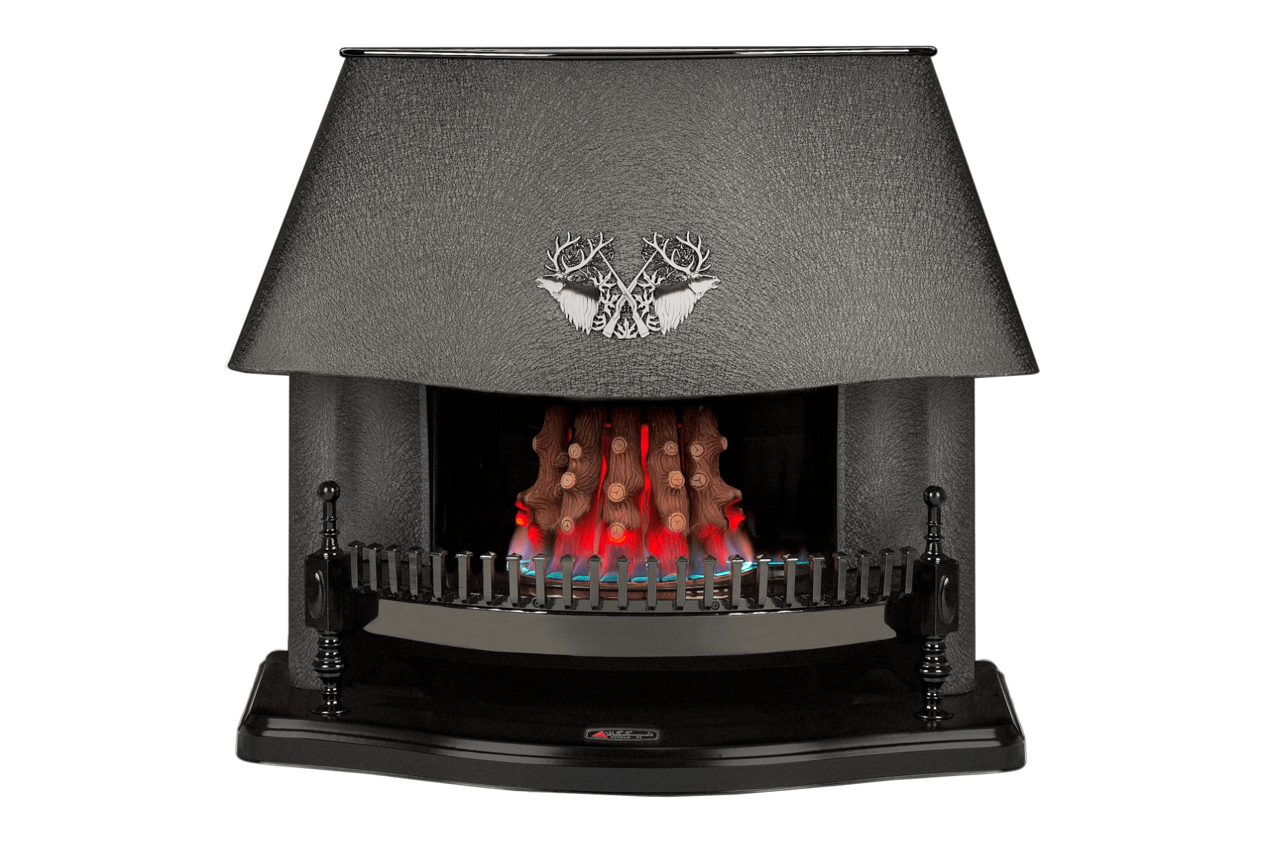 Nicala-curvy fireplace front